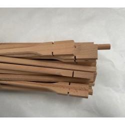 Posatoio in legno di Faggio 40cm diametro 10mm